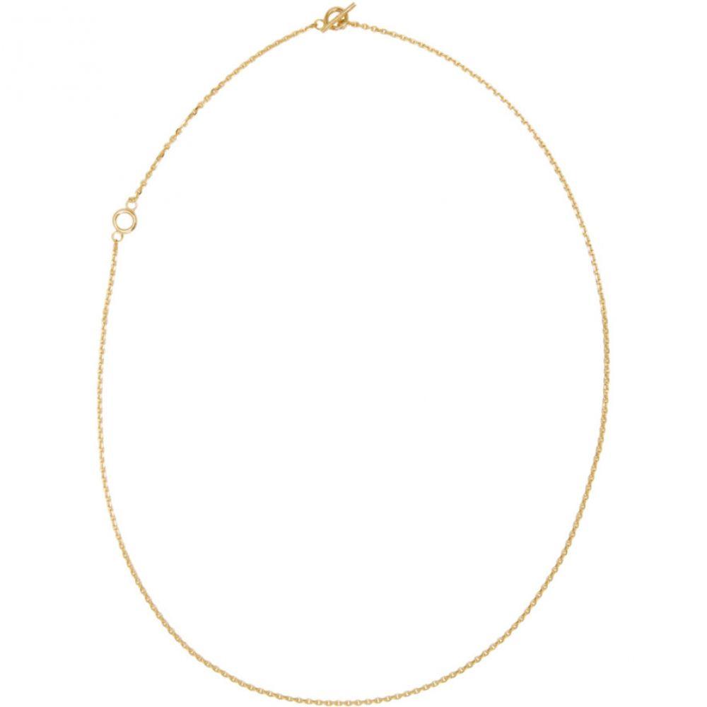 オールブルース All Blues メンズ ジュエリー・アクセサリー ネックレス【Gold Polished String Necklace】Gold