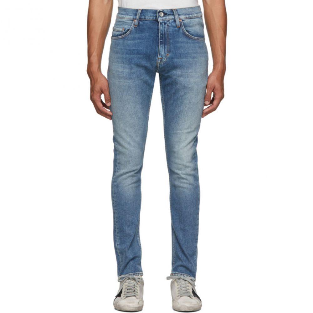タイガー オブ スウェーデン Tiger of Sweden Jeans メンズ ボトムス・パンツ ジーンズ・デニム【Blue Pistorel Jeans】Dust blue