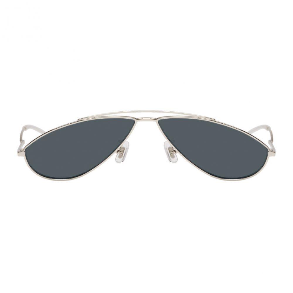 ジェントルモンスター Gentle Monster メンズ メガネ・サングラス【Silver & Blue Kujo Sunglasses】