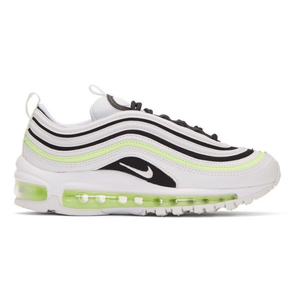 ナイキ Nike レディース シューズ・靴 スニーカー【White & Black Air Max 97 Sneakers】Summit white/Black