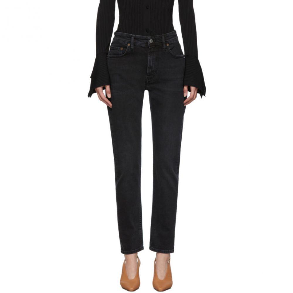 アクネ ストゥディオズ Acne Studios レディース ボトムス・パンツ ジーンズ・デニム【Black Bla Konst Melk Used Jeans】Used black