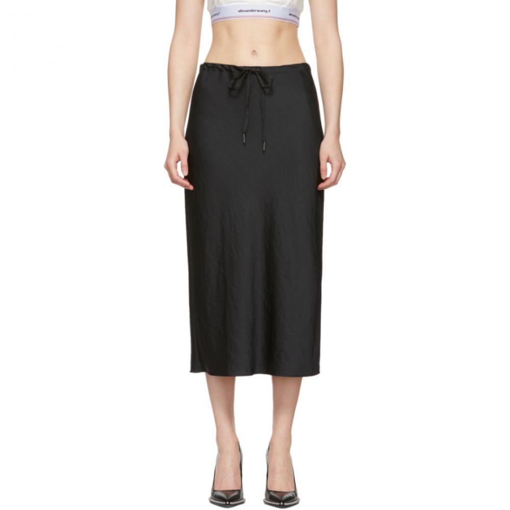 アレキサンダー ワン alexanderwang.t レディース スカート【Black Wash & Go Light Skirt】Black