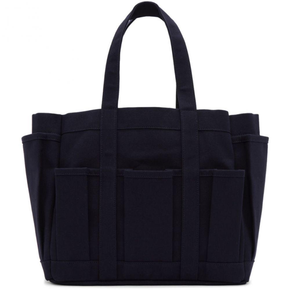 コム デ ギャルソン Comme des Garcons Shirt メンズ バッグ【Navy Canvas Tool Bag】Navy