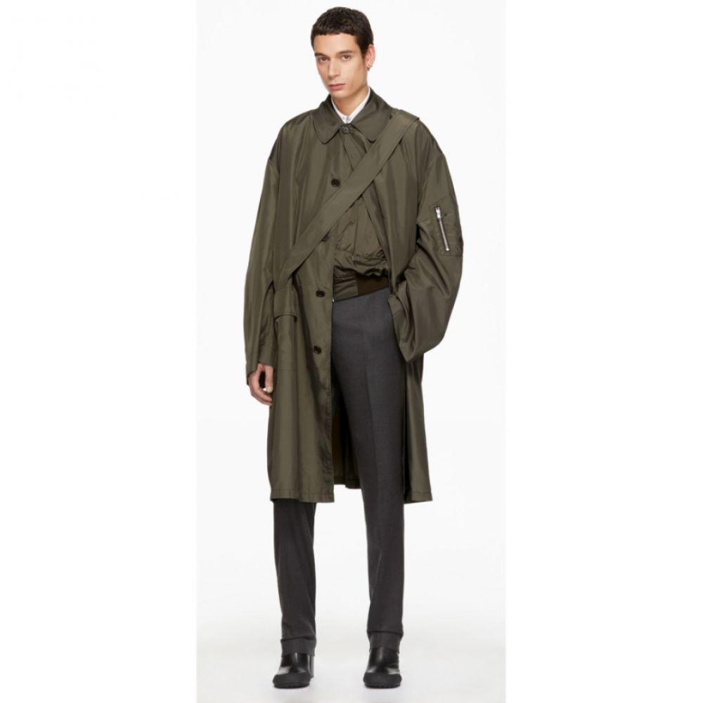 ランダム アイデンティティーズ Random Identities メンズ アウター コート【Bronze Satin Overcoat】