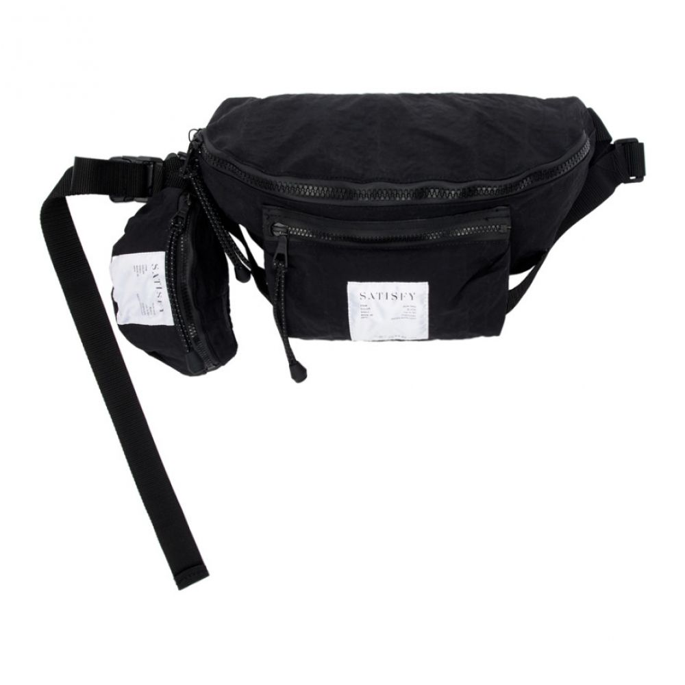 サティスフィ Satisfy メンズ バッグ ボディバッグ・ウエストポーチ【Black Belt Bag】Black