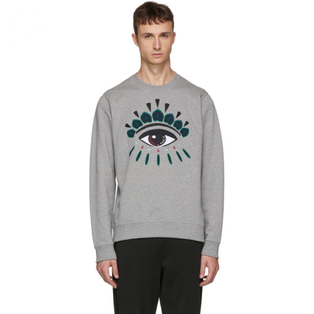 ケンゾー メンズ Kenzo メンズ Sweatshirt】 トップス スウェット・トレーナー【Grey Eye トップス Classic Sweatshirt】, 金mono GOOD-1:c5938288 --- odigitria-palekh.ru