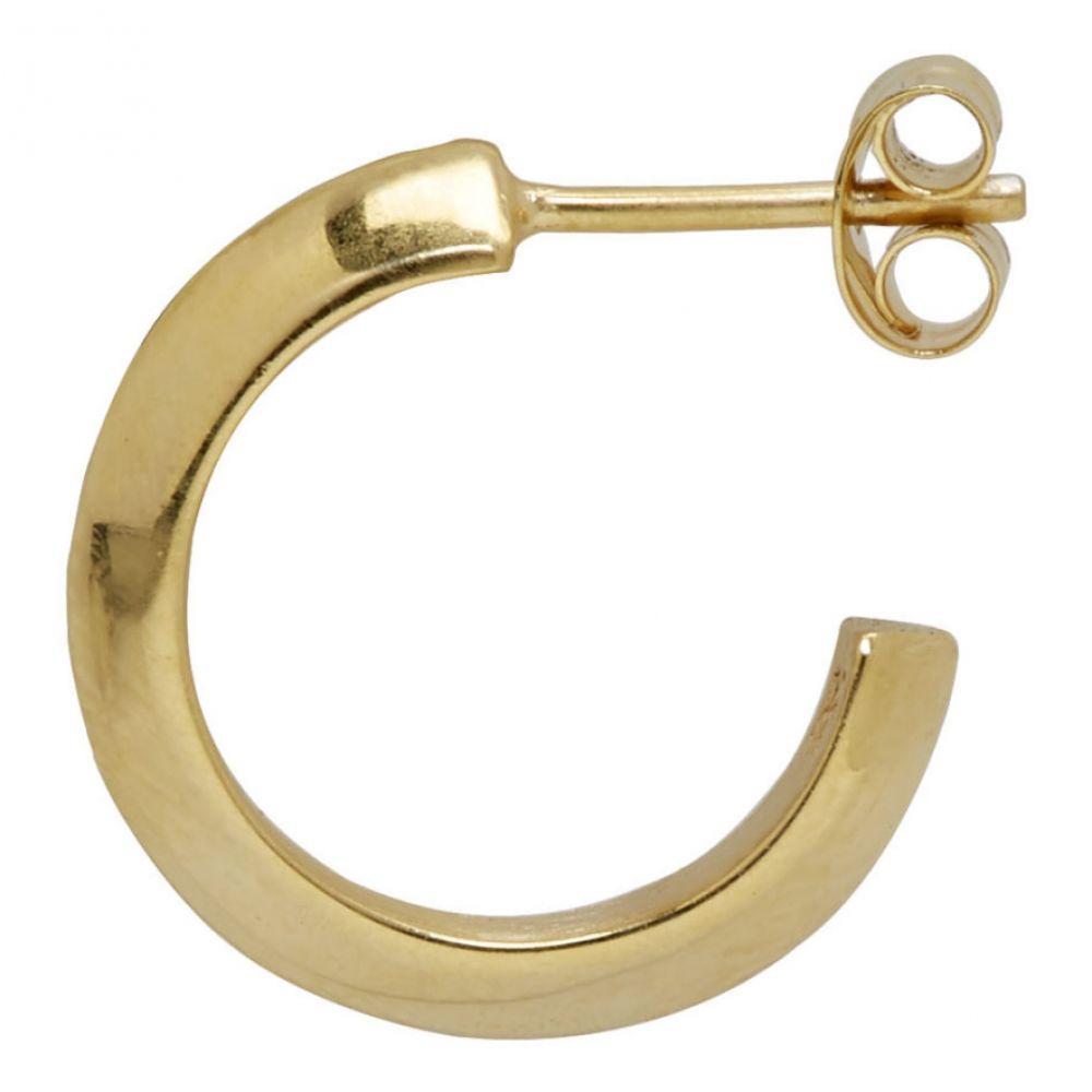オールブルース All Blues メンズ ジュエリー・アクセサリー イヤリング・ピアス【Gold Small Triangle Earring】Gold
