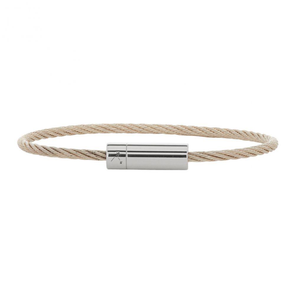 ルグラム Le Gramme メンズ ジュエリー・アクセサリー ブレスレット【Silver Polished 'Le 9 Grammes' Bracelet】