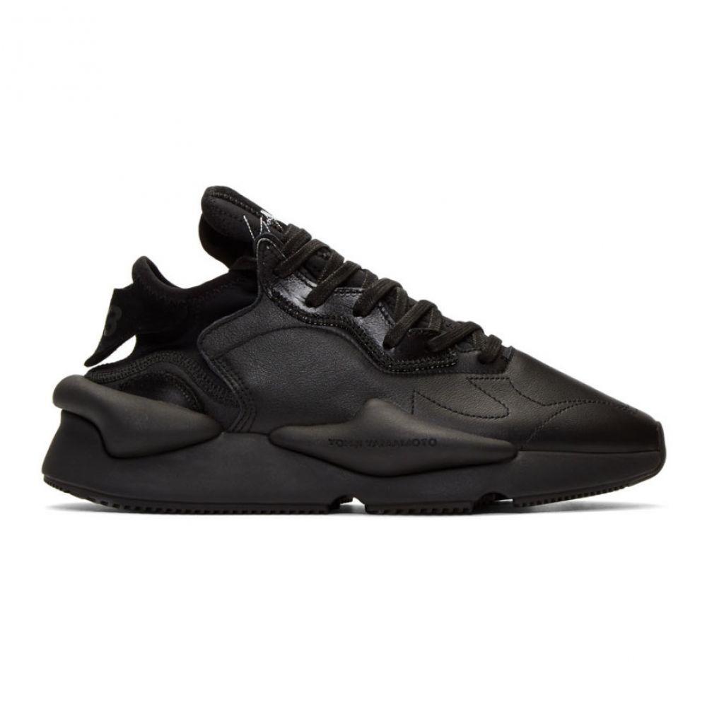 ワイスリー Y-3 レディース シューズ・靴 スニーカー【Black Kaiwa Low Sneakers】Black/White
