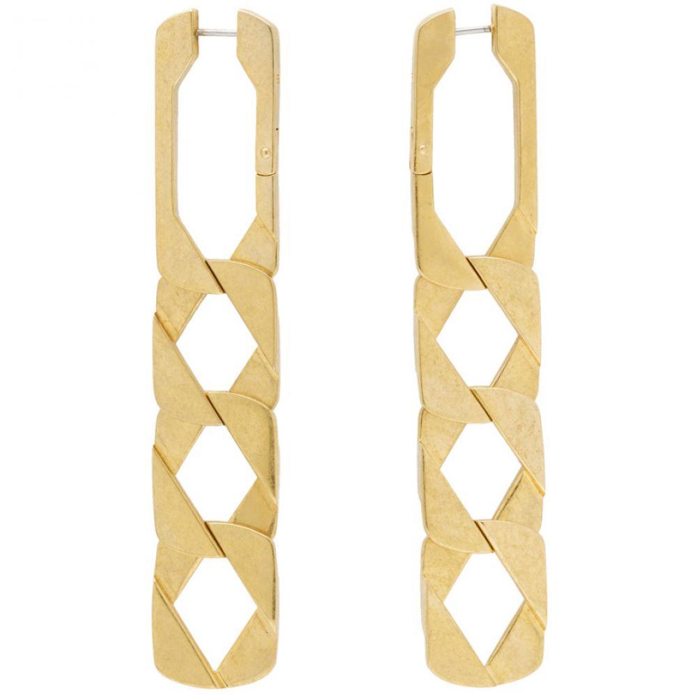 アレキサンダー ワン Alexander Wang レディース ジュエリー・アクセサリー イヤリング・ピアス【Gold Drop Chain Earrings】Gold tone