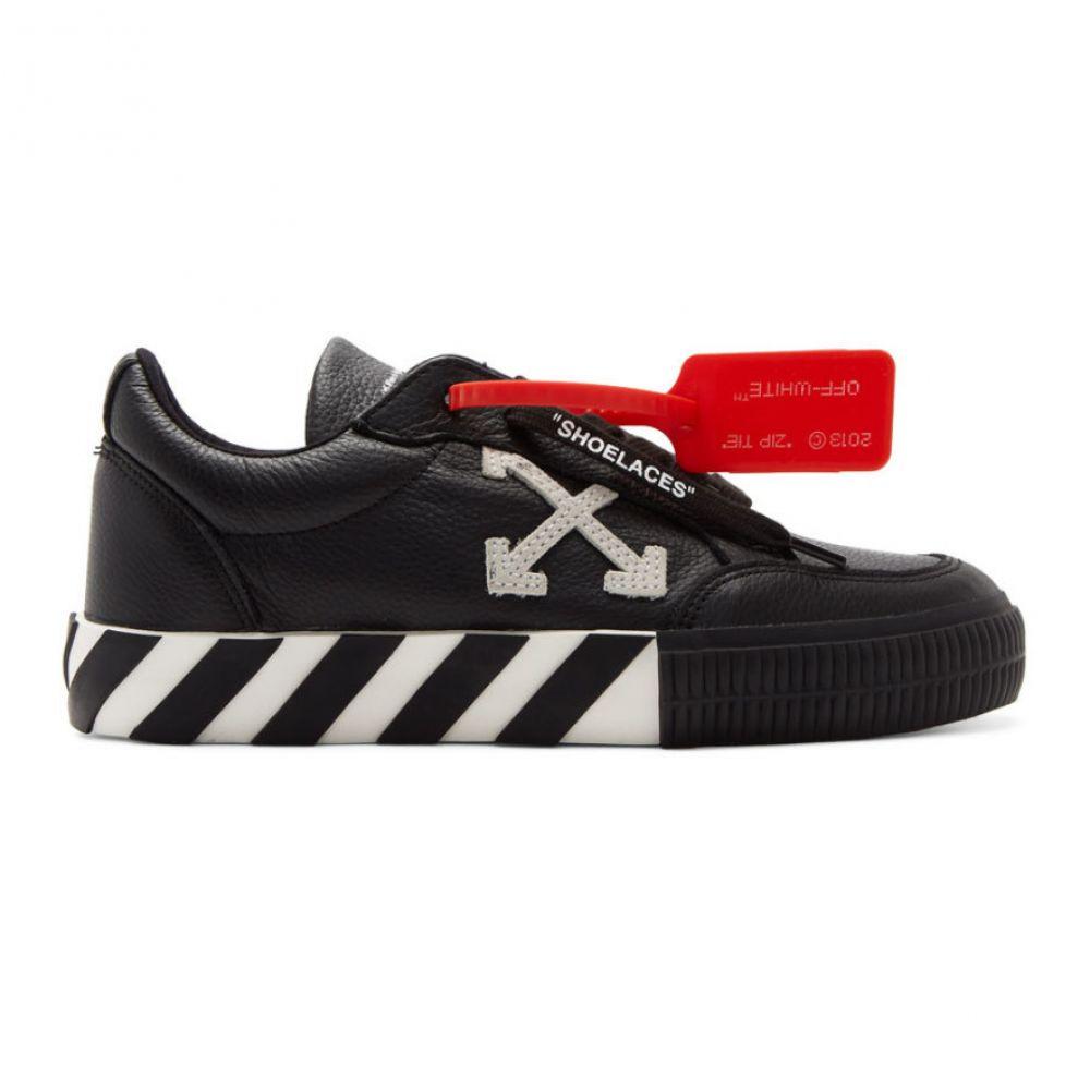 オフ-ホワイト Off-White レディース シューズ・靴 スニーカー【Black Arrow Vulcanized Low Sneakers】Black/White