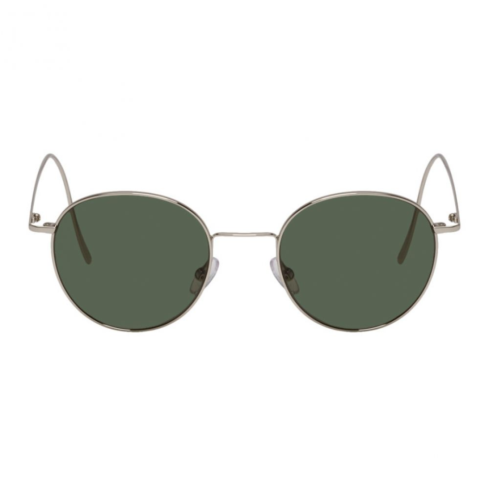 VIU メンズ メガネ・サングラス【Silver & Green 'The Vivid' Sunglasses】