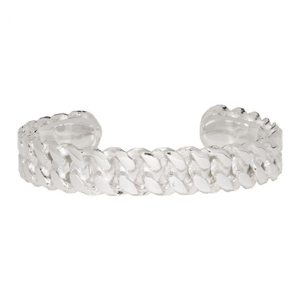 パールズ ビフォア スワイン Pearls Before Swine メンズ ジュエリー・アクセサリー ブレスレット【Silver Sliced Link Cuff Bracelet】