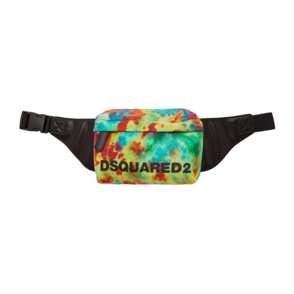 ディースクエアード Dsquared2 メンズ バッグ ボディバッグ・ウエストポーチ【Multicolor Nylon Tie-Dye Belt Bag】Multicolor