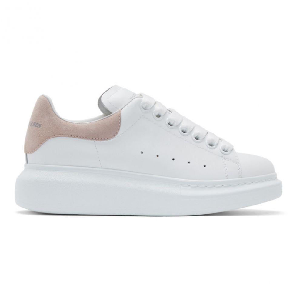 アレキサンダー マックイーン Alexander McQueen レディース シューズ・靴 スニーカー【White & Pink Oversized Sneakers】White/Patchouli pink