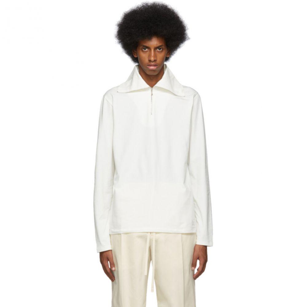 ジル サンダー Jil Sander+ メンズ トップス【Off-White Turtleneck Pullover】Porcelain