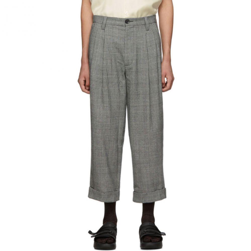 グッドファイト Goodfight メンズ ボトムス・パンツ【Grey Libertine Trousers】Small plaid
