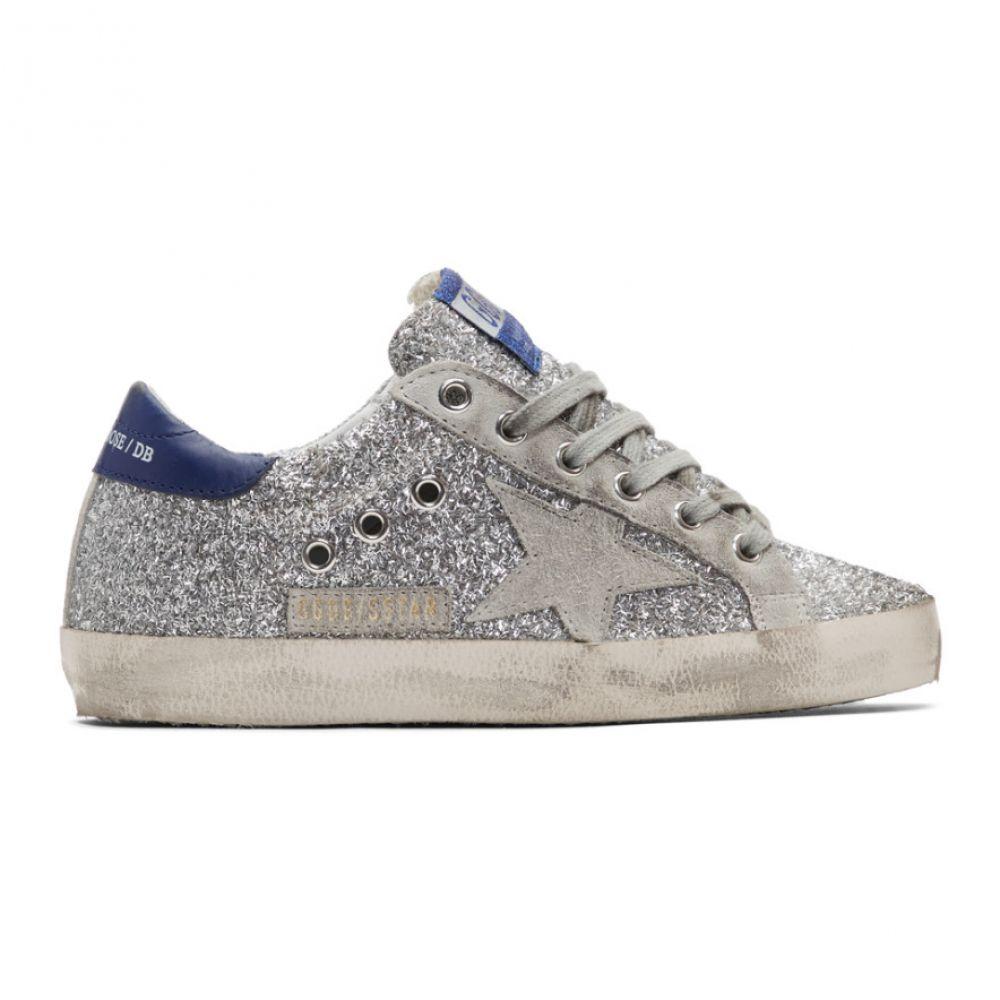 ゴールデン グース Golden Goose レディース シューズ・靴 スニーカー【Silver & Grey Superstar Sneakers】Silver