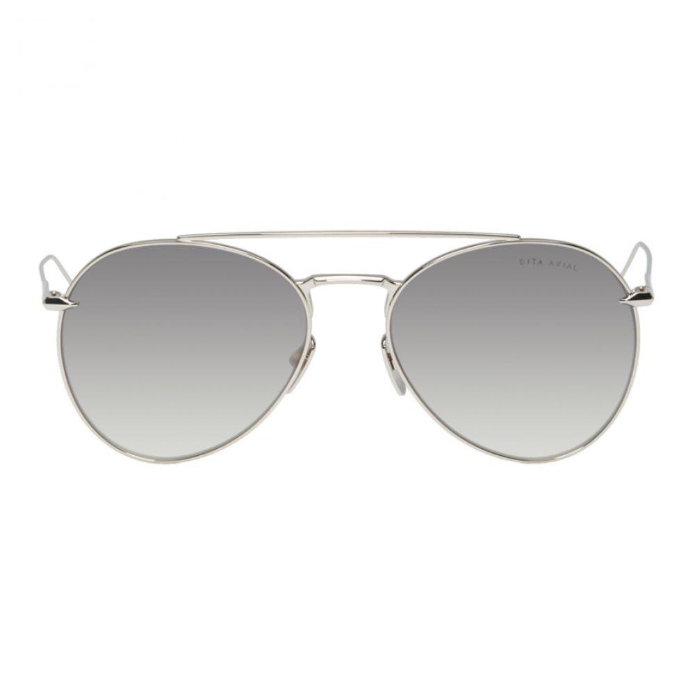 ディータ Dita メンズ メガネ・サングラス【Silver Axial Sunglasses】Grey gradient/Silver flash