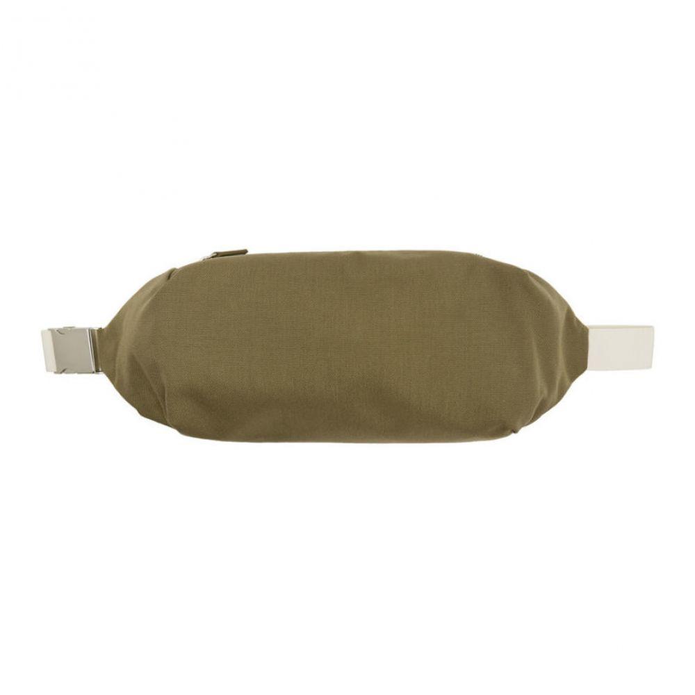 ジル サンダー Jil Sander メンズ バッグ ボディバッグ・ウエストポーチ【Khaki Simple Climb Belt Bag】Medium beige