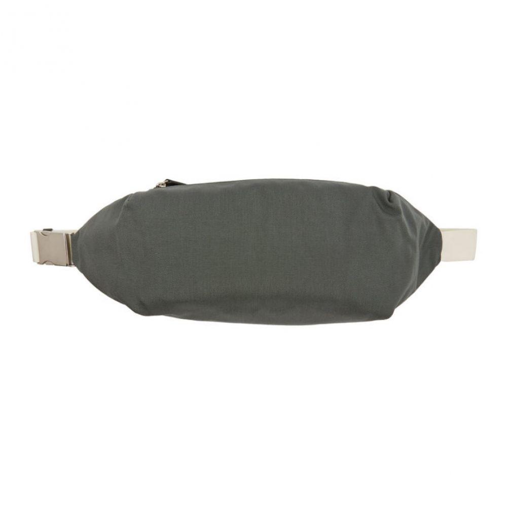 ジル サンダー Jil Sander メンズ バッグ ボディバッグ・ウエストポーチ【Green Simple Climb Belt Bag】Dark green