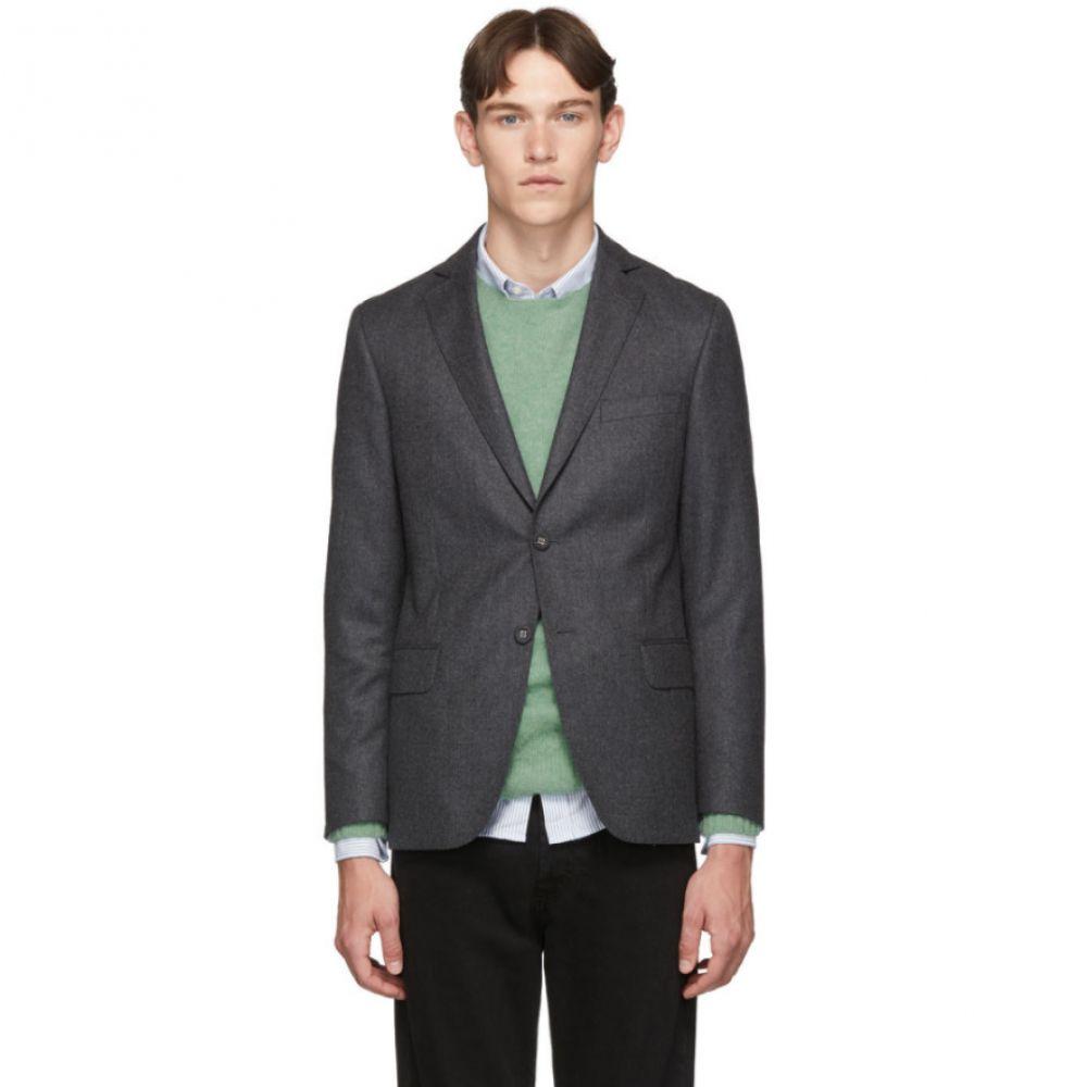 オフィシン ジェネラーレ Officine Generale メンズ アウター スーツ・ジャケット【Grey Wool 375 Blazer】Charcoal