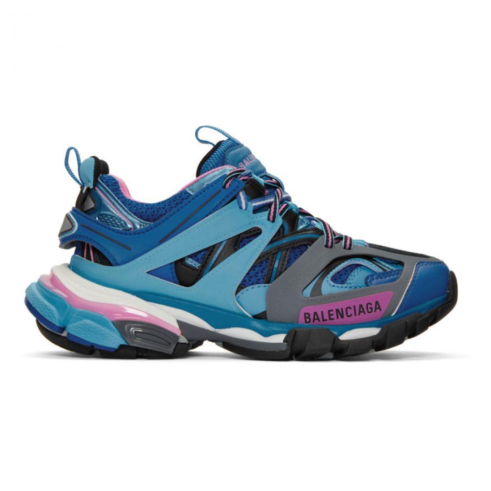 バレンシアガ Balenciaga レディース シューズ・靴 スニーカー【Blue & Pink Track Sneakers】