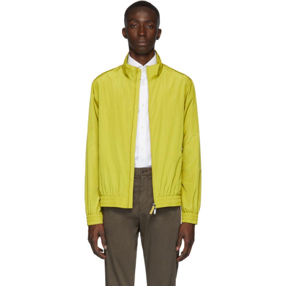 ジーゼニア Z Zegna メンズ アウター ブルゾン【Yellow Blouson Jacket】Citrine