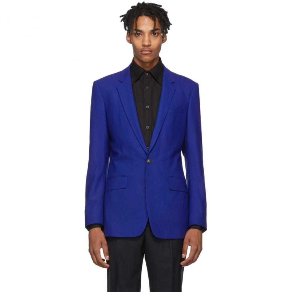 ケンゾー Kenzo メンズ アウター スーツ・ジャケット【Blue Slim Formal Blazer】Slate blue