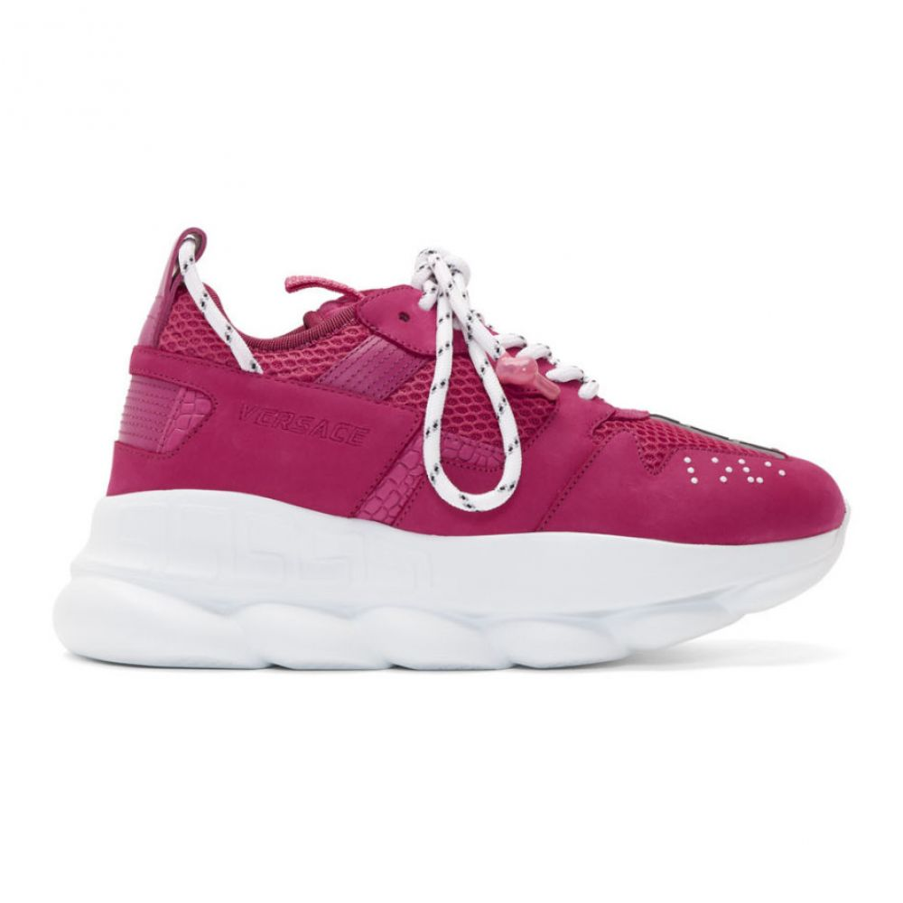 ヴェルサーチ Versace メンズ シューズ・靴 スニーカー【Pink Chain Reaction 2 Sneakers】Blowzy