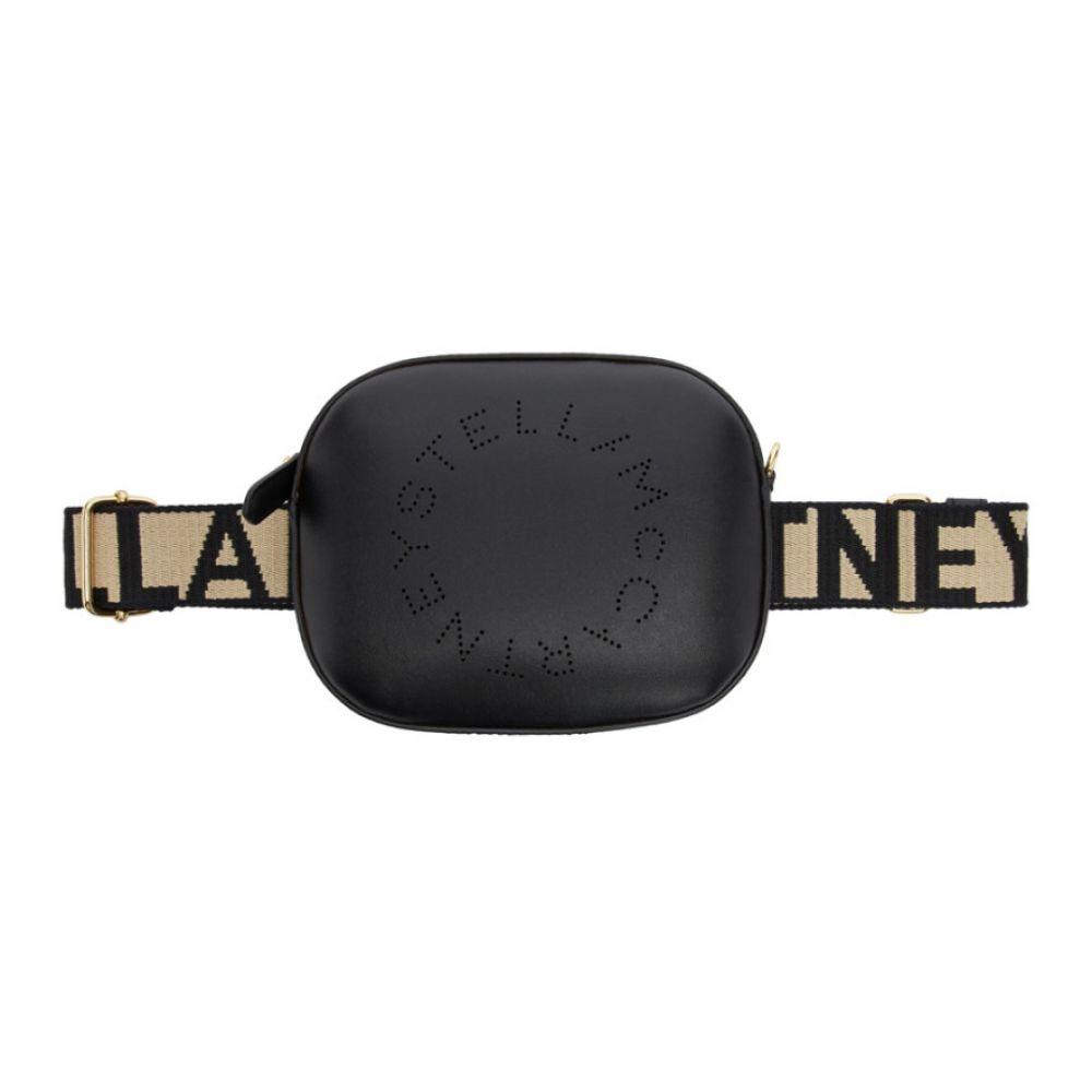 ステラ マッカートニー Stella McCartney レディース バッグ ボディバッグ・ウエストポーチ【Black Eco Soft Logo Belt Bag】Black