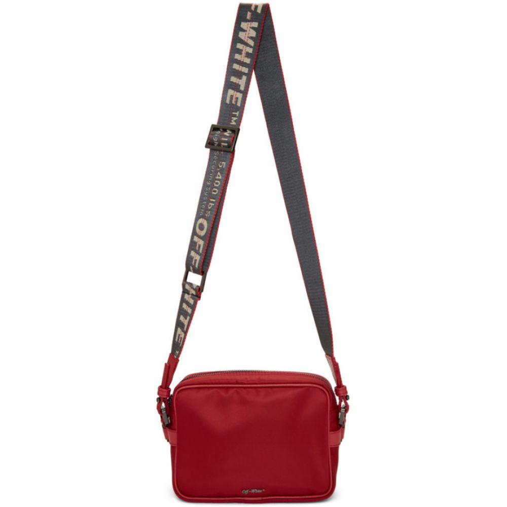 オフ-ホワイト Off-White レディース バッグ ショルダーバッグ【Red Crossbody Bag】Red