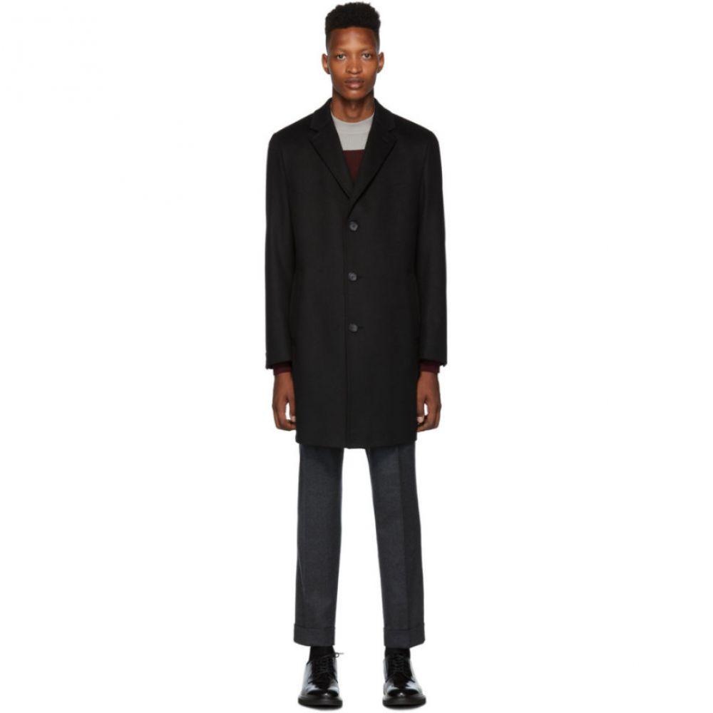 ヒューゴ ボス Boss メンズ アウター コート【Black 'The Stratus 3' Coat】Black
