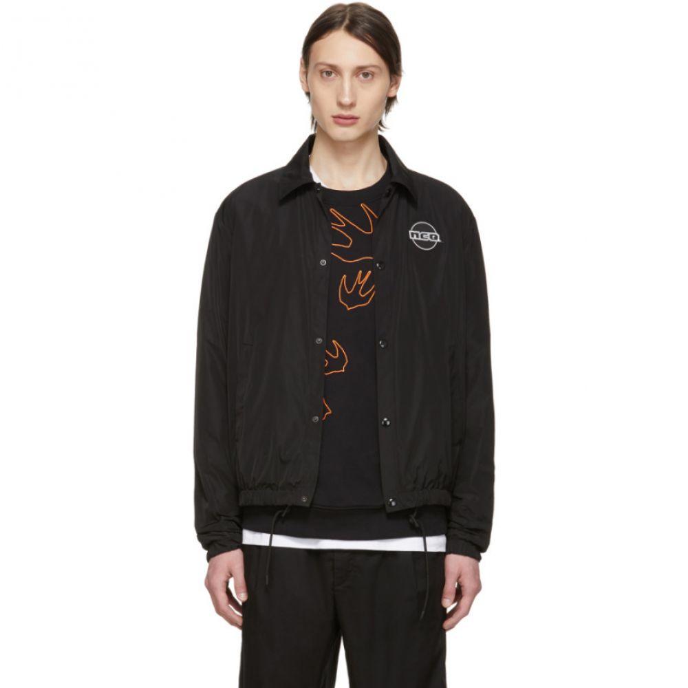 アレキサンダー マックイーン McQ Alexander McQueen メンズ アウター ジャケット【Black Windcheater Jacket】Black
