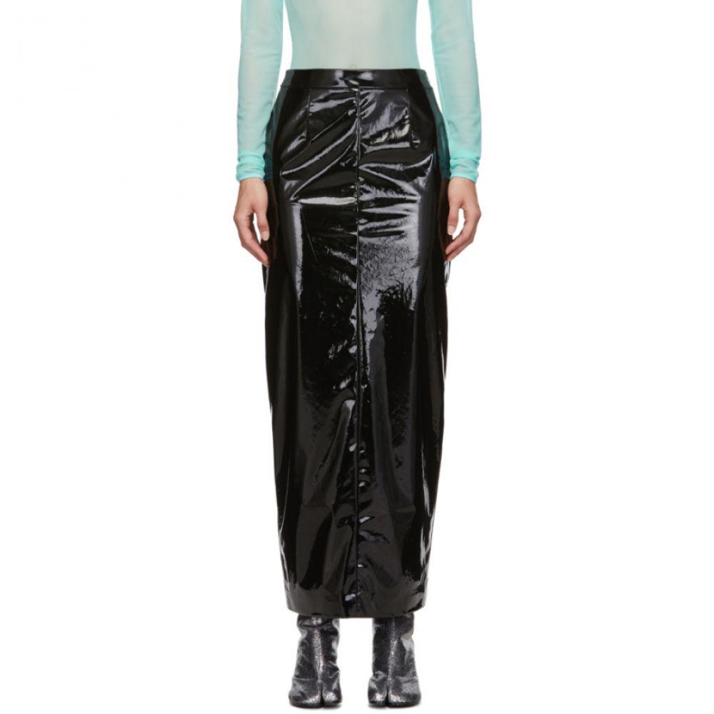 メゾン マルジェラ Maison Margiela レディース スカート【Black Vinyl Skirt】Black