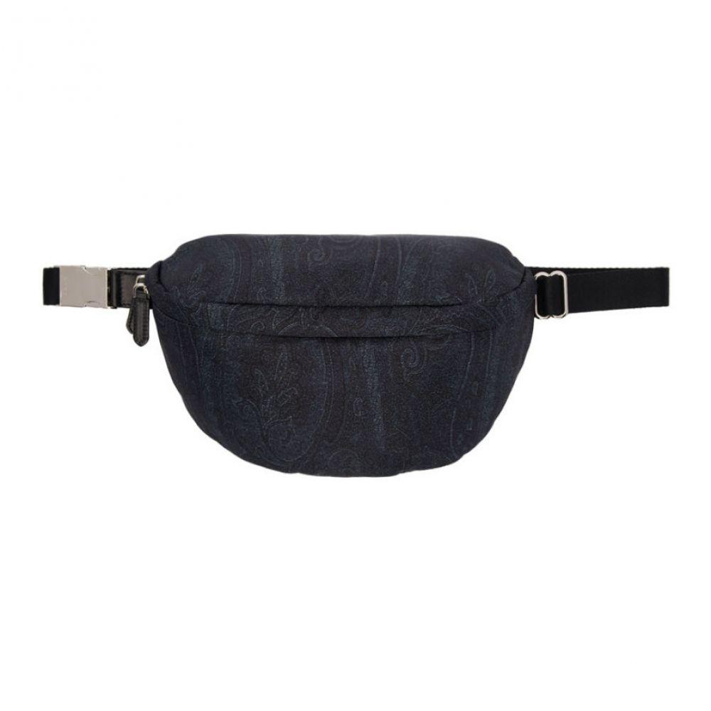 エトロ Etro メンズ バッグ ボディバッグ・ウエストポーチ【Blue Paisley Belt Bag】Blue