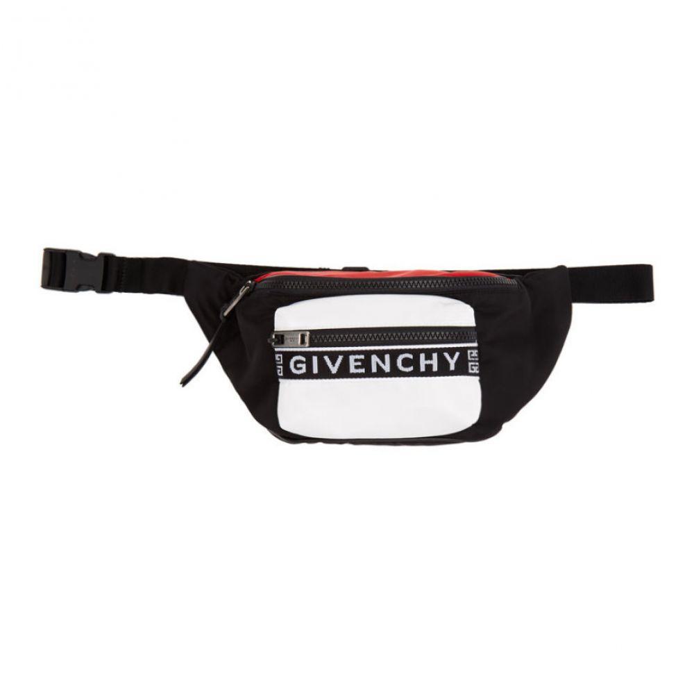 ジバンシー Givenchy メンズ バッグ ボディバッグ・ウエストポーチ【Multicolor Light 3 Belt Bag】Black/Red/White
