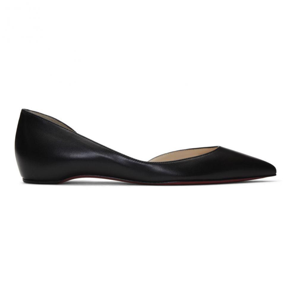 クリスチャン ルブタン Christian Louboutin レディース シューズ・靴 スリッポン・フラット【Black Iriza Flat Ballerina Flats】Black