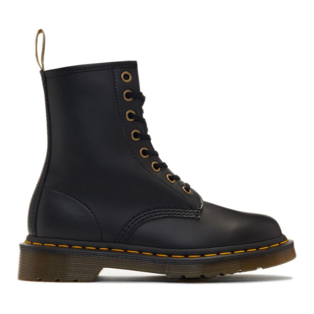 ドクターマーチン Dr. Martens レディース シューズ・靴 ブーツ【Black Vegan 1460 Boots】Black