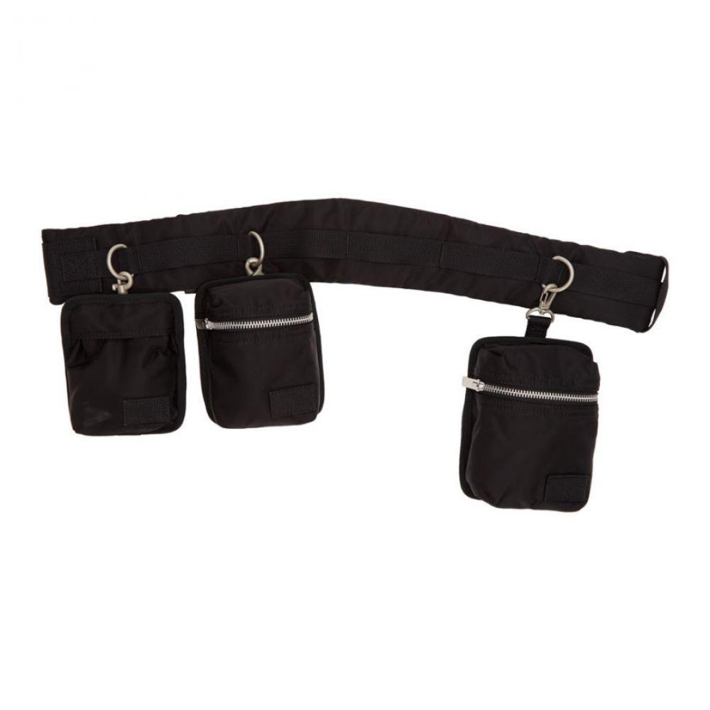 サカイ Sacai レディース バッグ ボディバッグ・ウエストポーチ【Black Belt Bag】Black