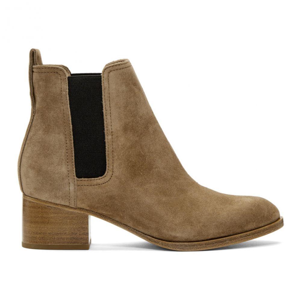 ラグ&ボーン rag & bone レディース シューズ・靴 ブーツ【Brown Suede Walker Boots】Camel suede
