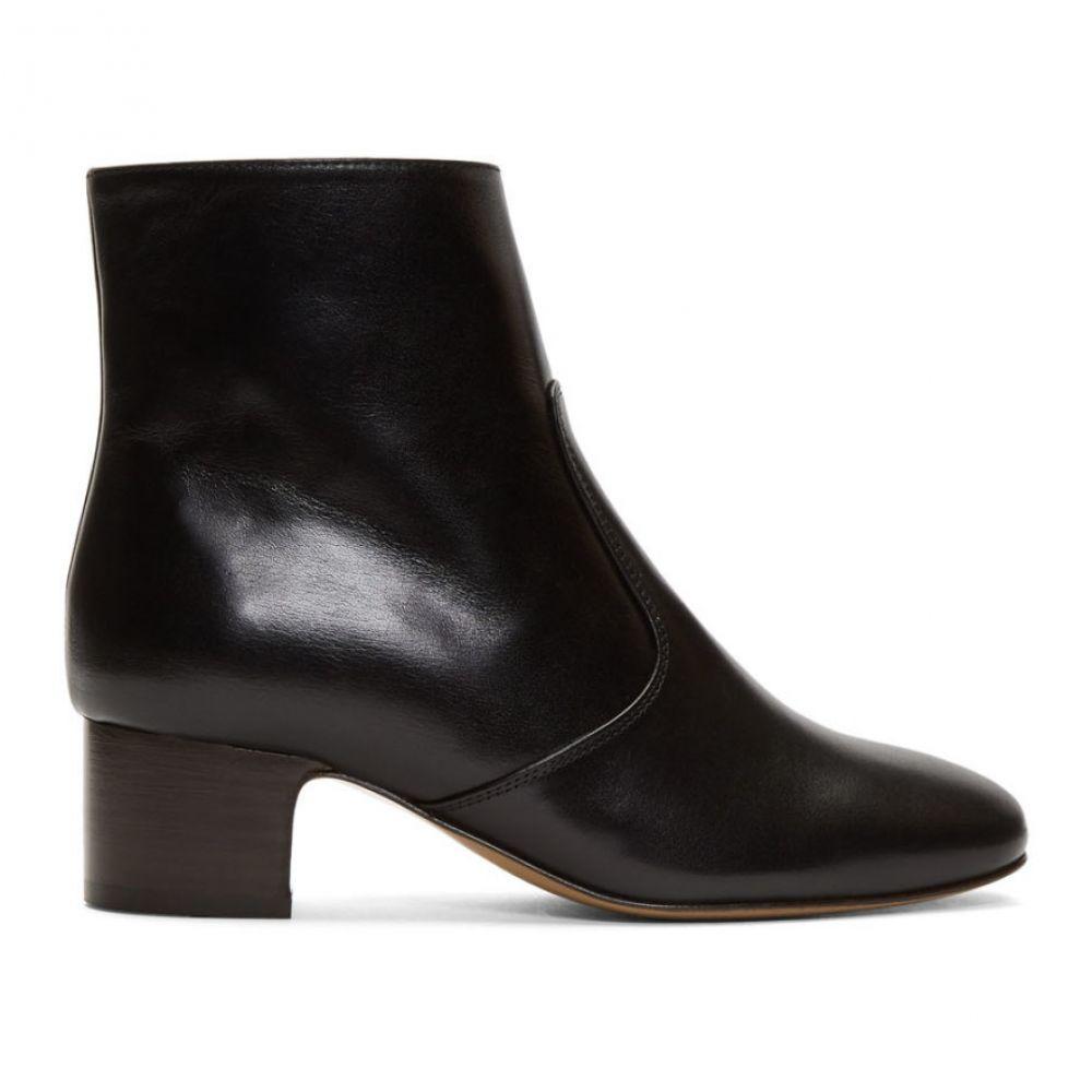 アーペーセー A.P.C. レディース シューズ・靴 ブーツ【Black Joey Heeled Boots】Black