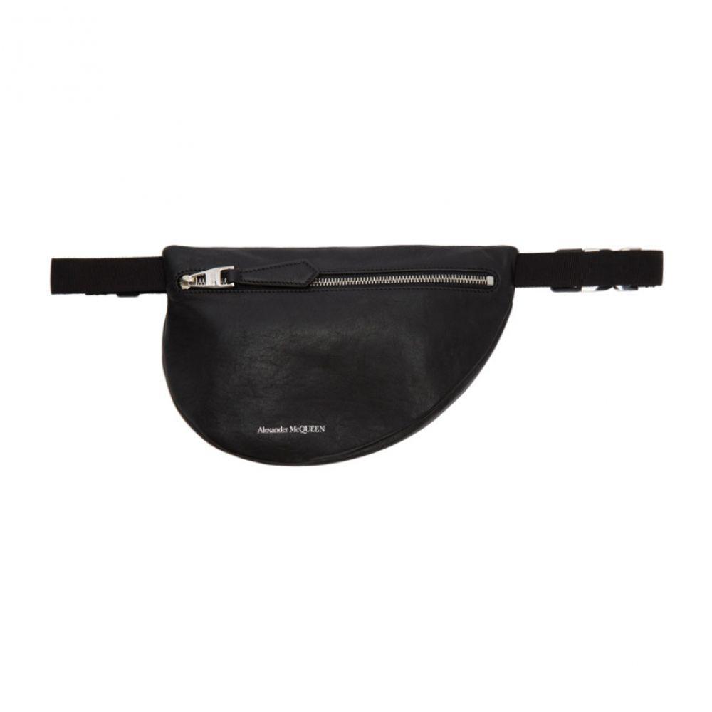 アレキサンダー マックイーン Alexander McQueen メンズ バッグ ボディバッグ・ウエストポーチ【Black Mini Bum Bag】Black