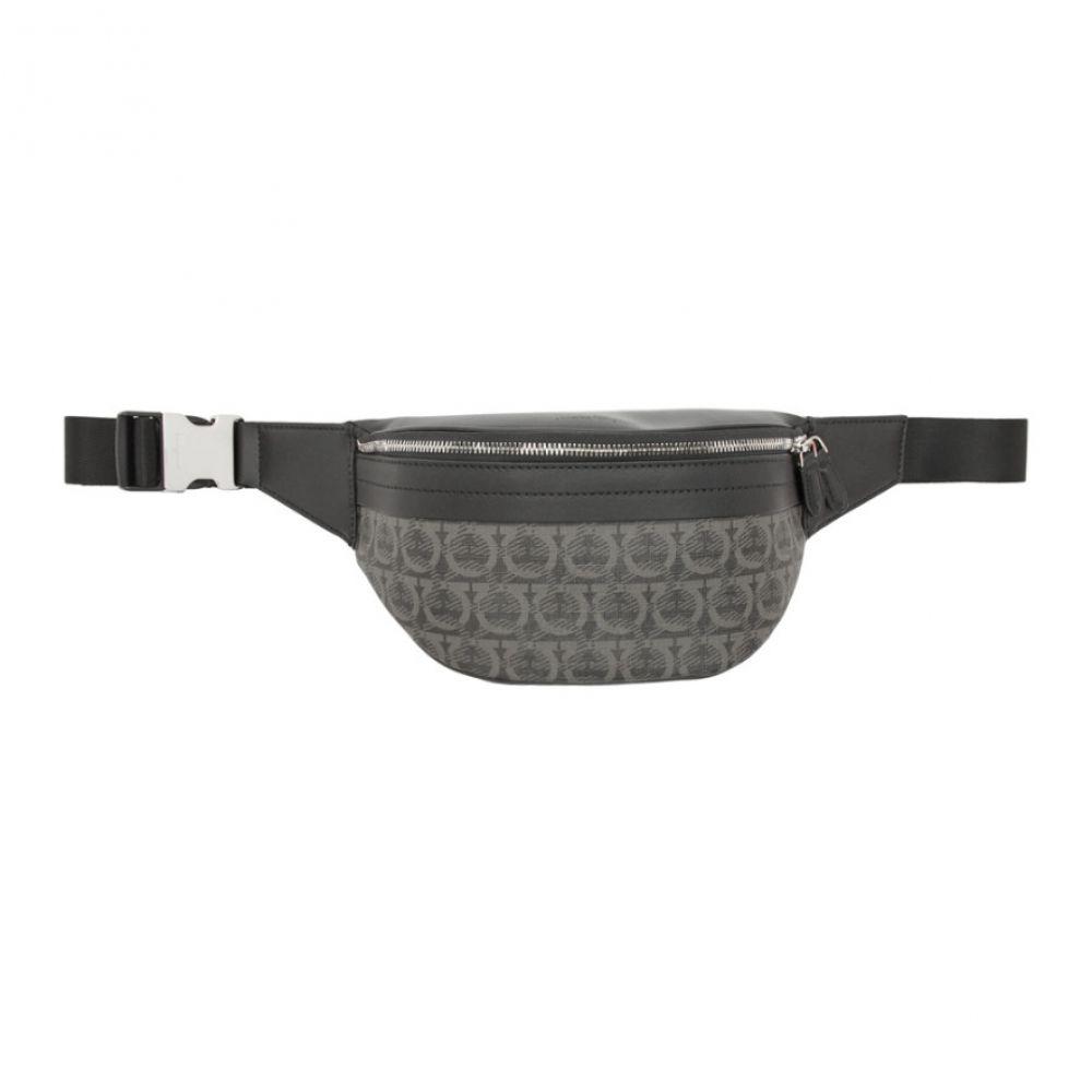 サルヴァトーレ フェラガモ Salvatore Ferragamo メンズ バッグ ボディバッグ・ウエストポーチ【Black Travel Belt Bag】Black