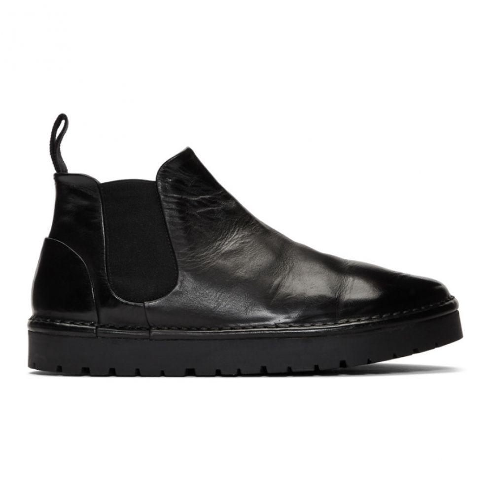 マルセル Marsell メンズ シューズ・靴 ブーツ【Black Gomme Sancrispa Alta Beatles Chelsea Boots】Black