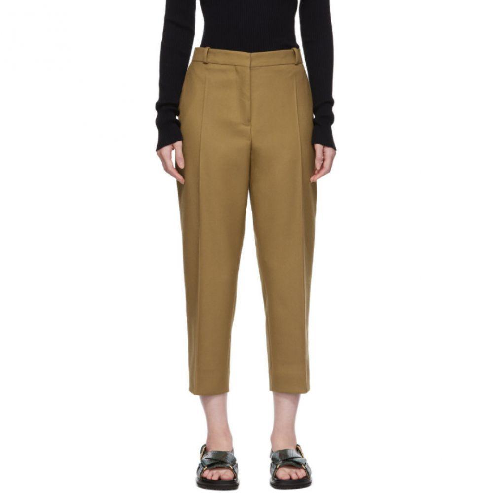 マルニ Marni レディース ボトムス・パンツ クロップド【Tan Cropped Trousers】Hazel