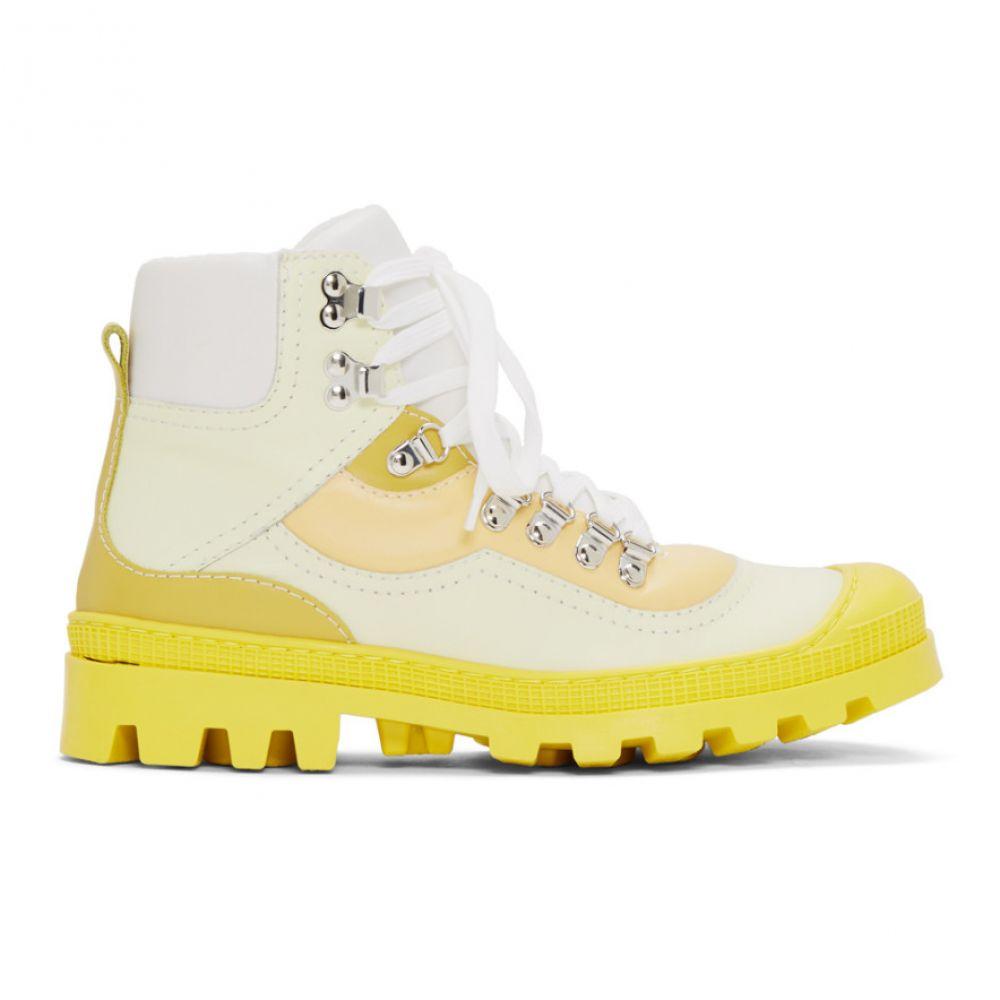 ロエベ Loewe メンズ ハイキング・登山 シューズ・靴【Yellow Hiking Boots】Multi-tone yellow