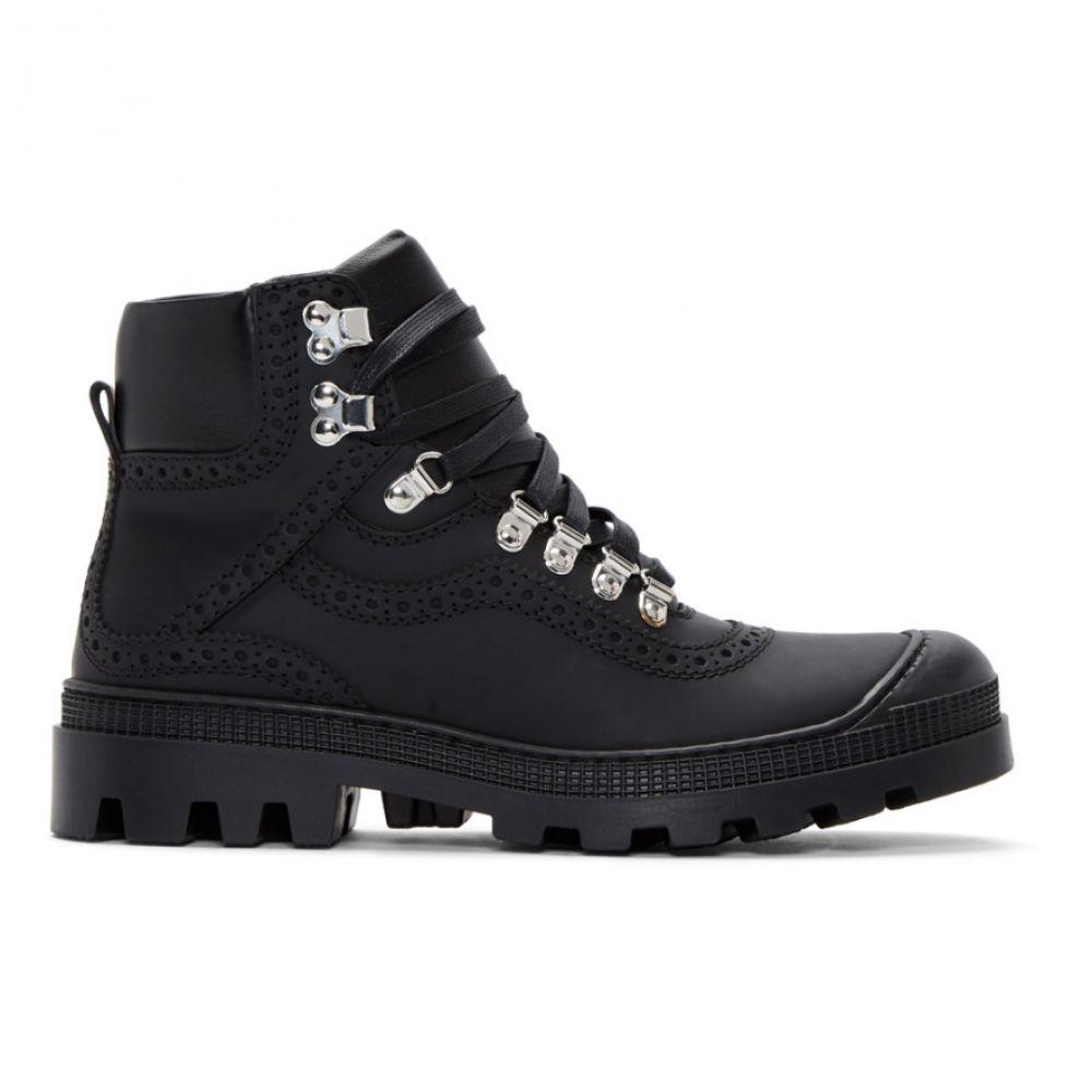 ロエベ Loewe メンズ ハイキング・登山 シューズ・靴【Black Hiking Boots】Black