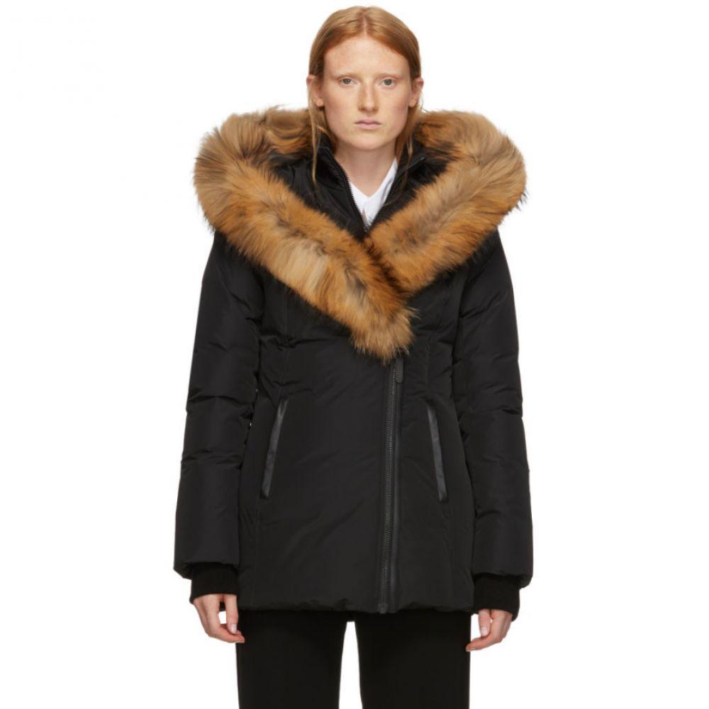マッカージュ Mackage レディース アウター ダウン・中綿ジャケット【Black Down & Fur Classic Adali Parka】Black
