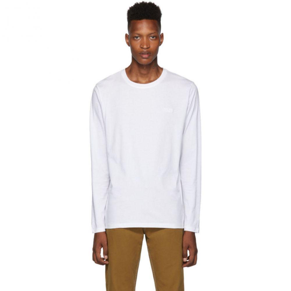 ヒューゴ トップス ボス Hugo メンズ トップス 長袖Tシャツ Dero194 メンズ【White Dero194 Long Sleeve T-Shirt】White, 値引:ebe6a94c --- officewill.xsrv.jp